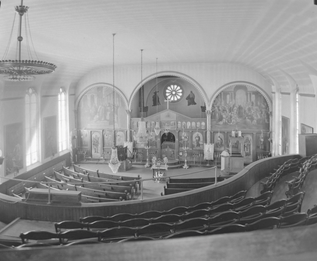 St Sophia Greek Orthodox Church, 8 Lancaster St., March 1963. NYS Archives.