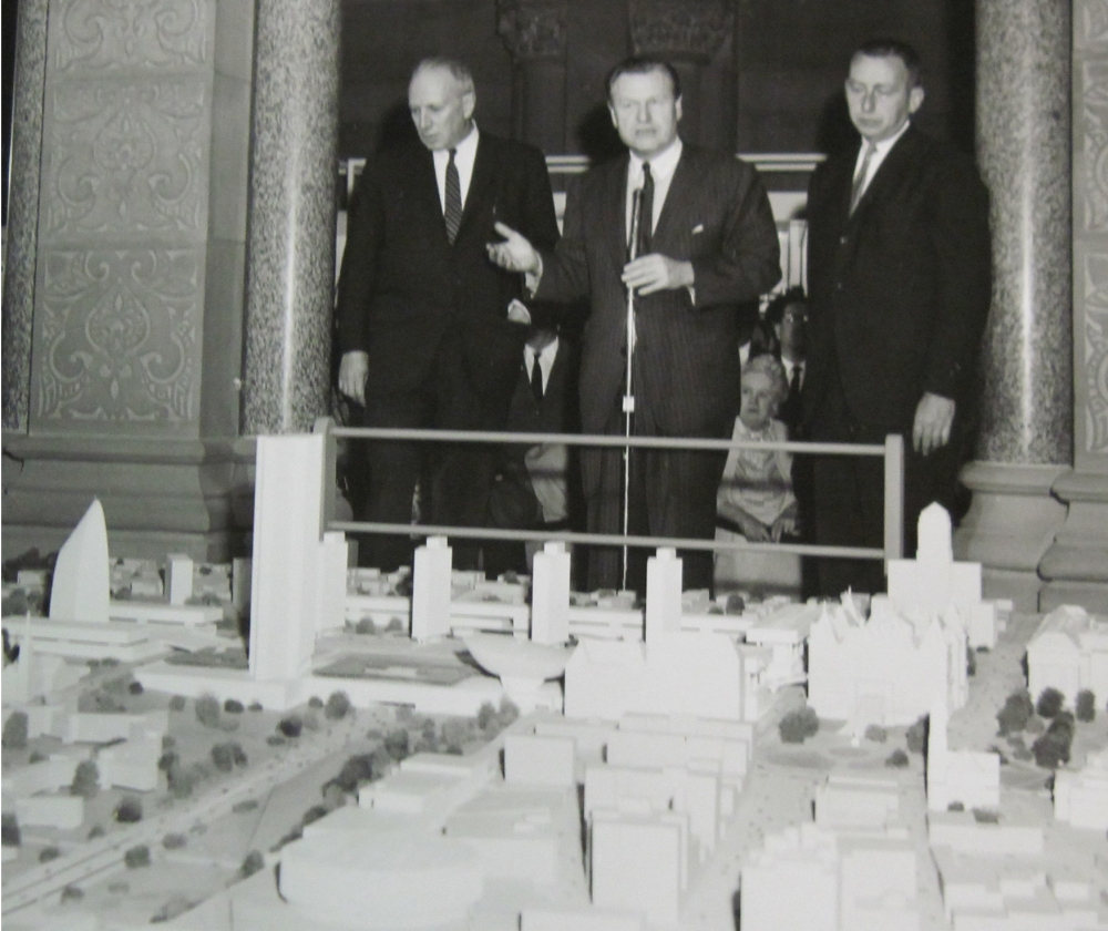Model by Wallace K. Harrison & Associates. NYS Archives.