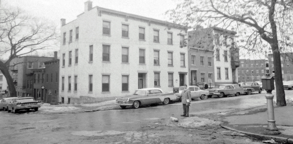 Jay Street, corner of High. NYS Archives.