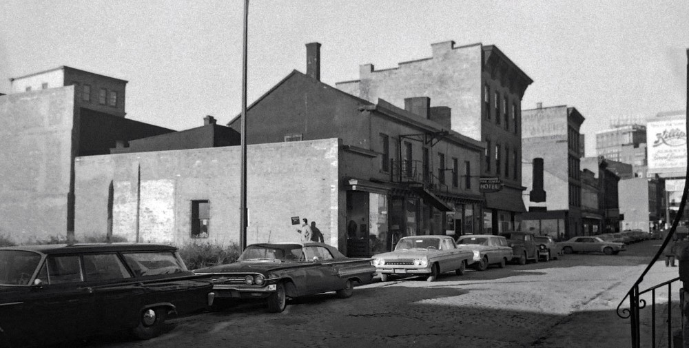 75 and 73 Green Street, December 1962. NYS Archives.