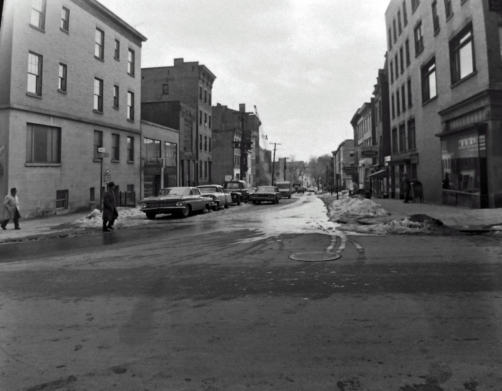 State Street looking South along Hawk Street. NYS Archives.