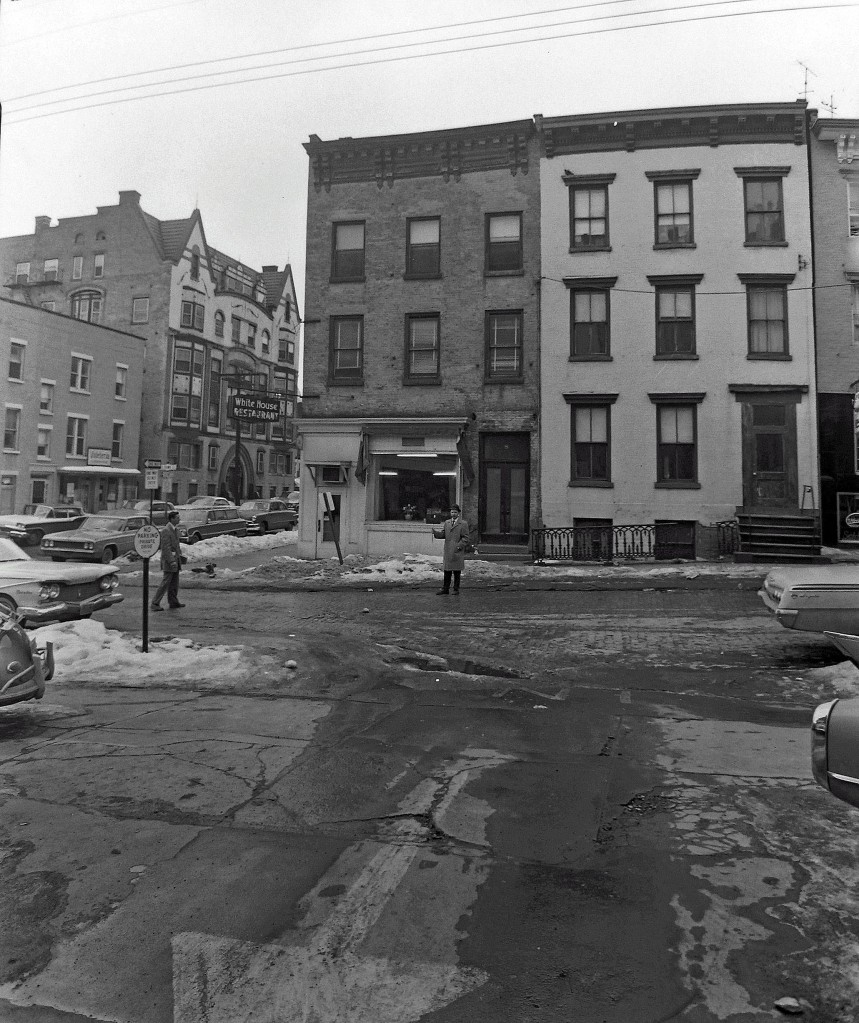 6 and 8 S Hawk Street. NYS Archives.