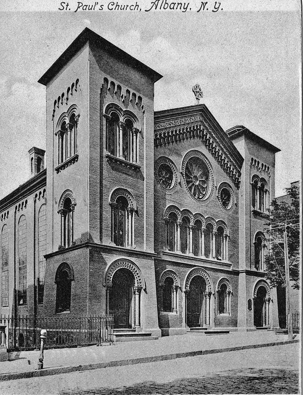 St. Paul's third home on Lancaster Street, ca. 1910. St. Paul's.