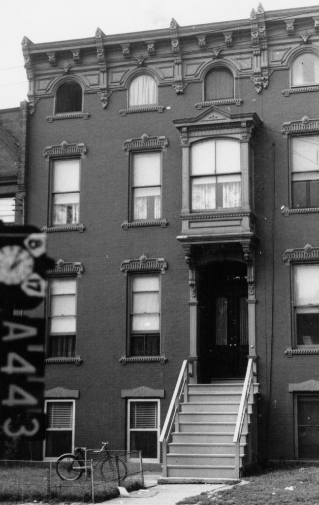 158 Elm Street, taken by an unidentified photographer August 17, 1962. Albany Institute of History & Art.