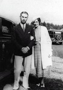 Ken and Josephine as newlyweds. Courtesy Mary Jane Hunter Kretzler.