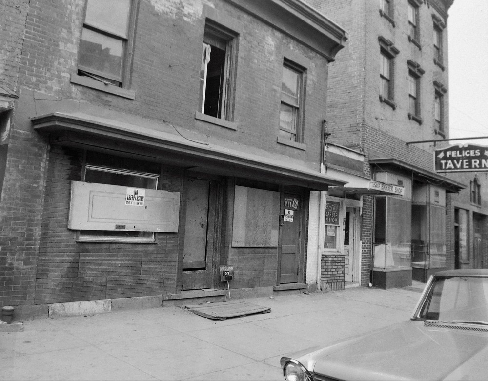 One block down from Milham's Grill, July 1963. NYS Archives.