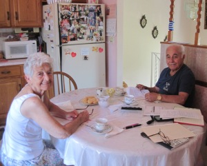 We interviewed Gail and Danny Bahlatzis at their house, July 2016. NYS Archives