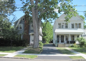 36 Norwood Ave. (left), where the Mullen family moved in 1963.