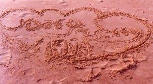 The Dwileskis honeymooned in Virginia Beach. Courtesy Gerry and Mary Dwileski.