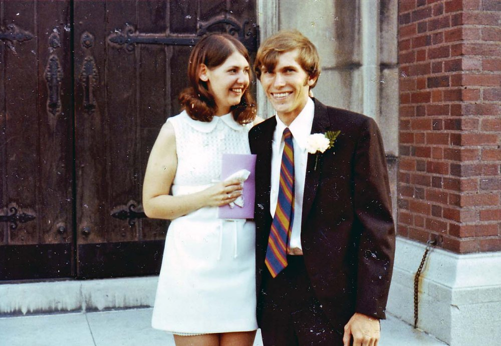 Gerry and Mary got married in 1971. Courtesy Gerry and Mary Dwileski.