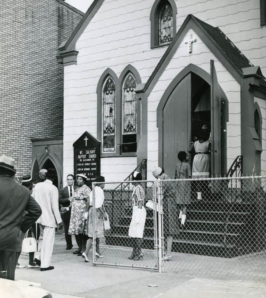 Mt Calvary Baptist Church 6-16-62