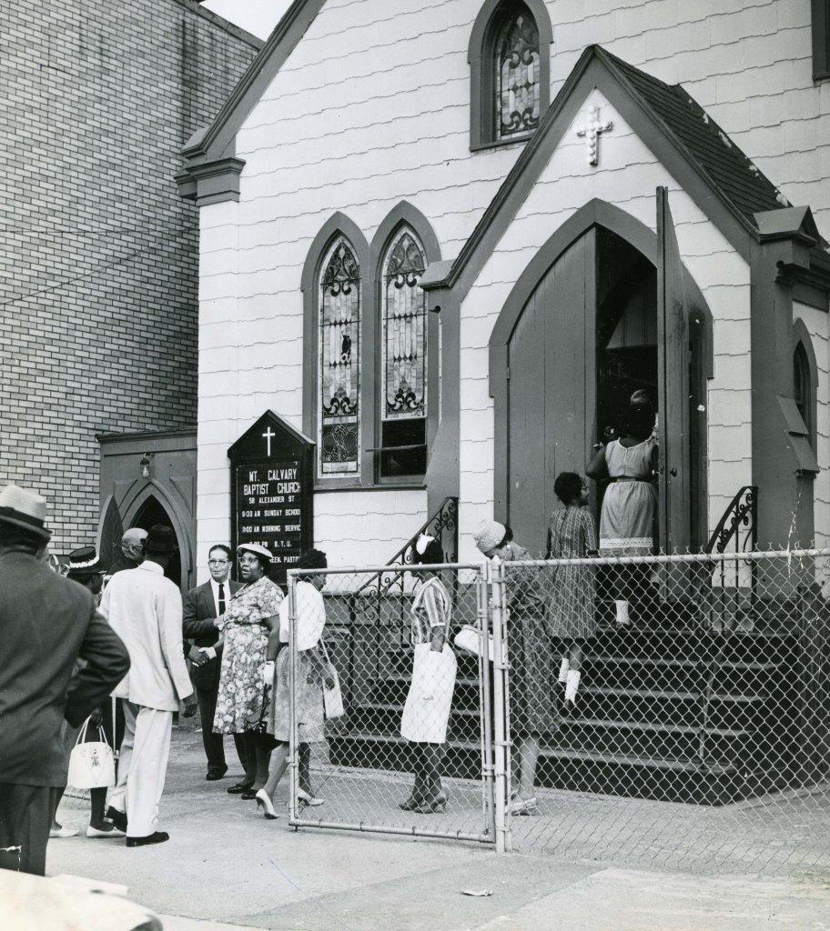 Mt Calvary Baptist Church 6-16-62